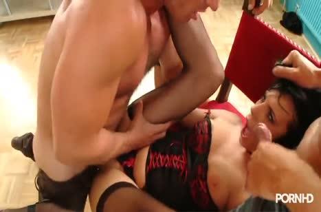 Нереальное анальное порно с безбашенными бабенками №2871