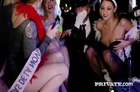 Пошлые блондинки любят секс во всех позициях №4269