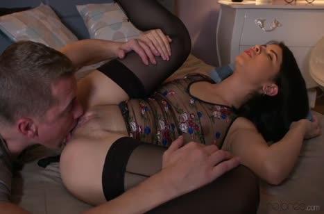 Довел подружку до оргазма романтическим трахом №1360