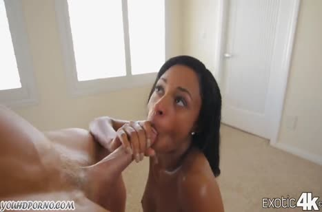 Межрассовый секс с красивыми нимфетками во все дыры №1918