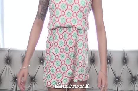 Скриншот Развратное порно видео с кастингов бесплатно №4568 #1