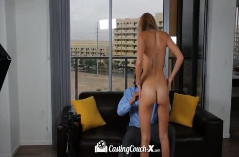 Скриншот Развратное порно видео с кастингов бесплатно №755 #3