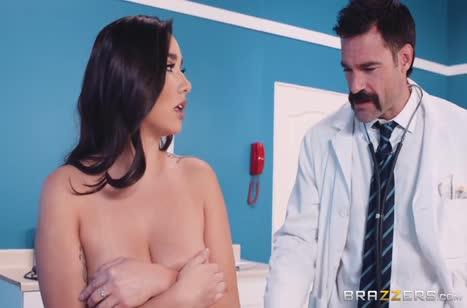 Круто трахнул девушку и угостил ее спермой №4091