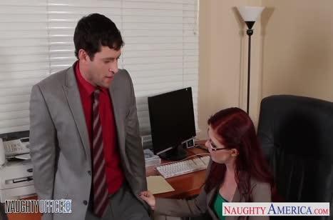 Развратное порно видео в офисе №3481 бесплатно